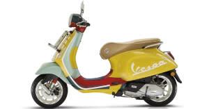 Vespa X美國潮流設計金童Sean Wotherspoon聯名特仕版