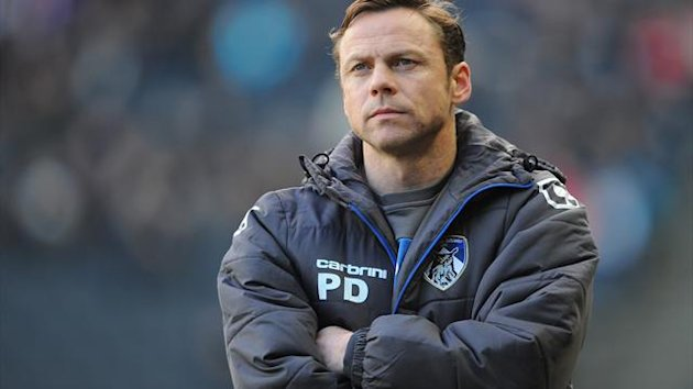 Paul Dickov is hoping for a big-money clash with Manchester City in the FA Cup