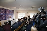 Britain Football Soccer - Sutton United Media Day - FA Cup Fifth Round Preview - The Borough Sports Ground - 16/2/17 Sutton United manager Paul Doswell during the press conference Action Images via Reuters / Matthew Childs Livepic