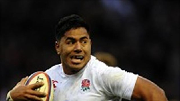 Manu Tuilagi is struggling with an ankle injury