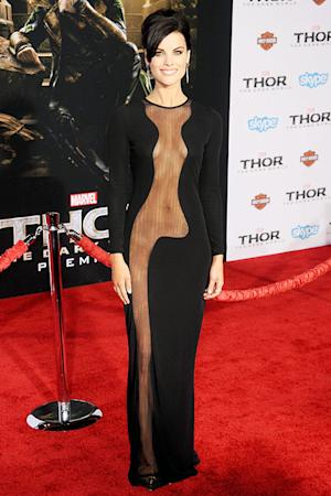 Jaimie Alexander in Revealing Dress at Thor Premiere: Discover the Secret to Her Body!