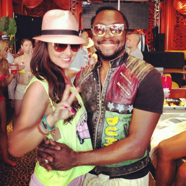 Cheryl Cole, will.i.am, Vegas