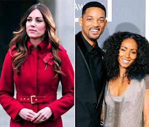 "Kate Middleton Looks Slim at Poppy Day, Will Smith Said ""Gonna Get Jada Pregnant"" Days Before Cheating Rumors: Top 5 Thursday Stories"