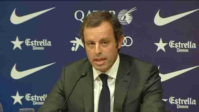 Liga - Barca chief departs with fans unhappy about transparency