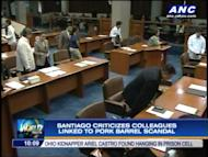 Senator Miriam Defensor Santiago can't wait to question Janet Lim Napoles f and when she attends the Senate inquiry on the pork barrel scandal. Apparently fed up by the controversy Santiago also dished out harsh words against her colleagues. For more news, click here.