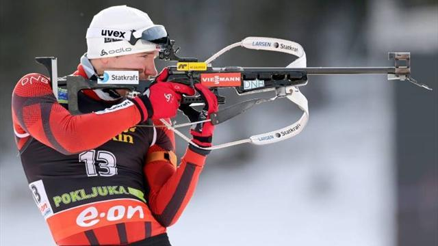 Biathlon - Svendsen takes first win of season in Pokljuka
