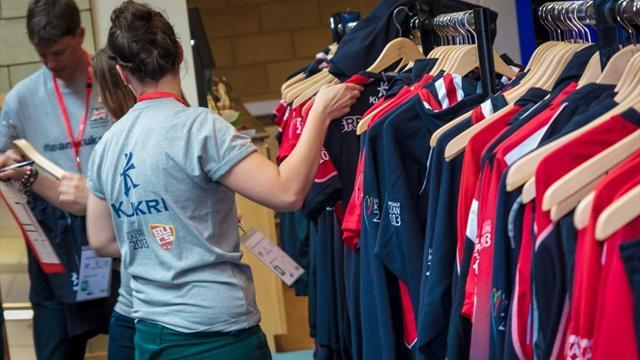 University Sports - Team GB get new kit
