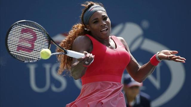 US Open - Serena holds off young rival to reach quarters