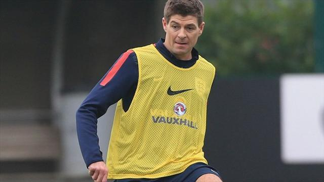 World Cup - Gerrard humbled to match Moore haul