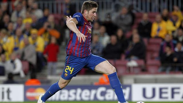 Liga - Celta sign Barcelona's Fontas