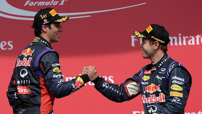 Formula 1 - Vettel: Ricciardo comparisons unfair
