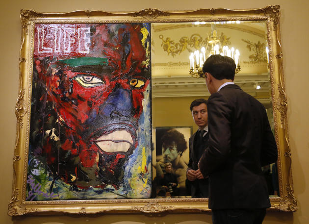 See Sylvester Stallone's art masterpieces