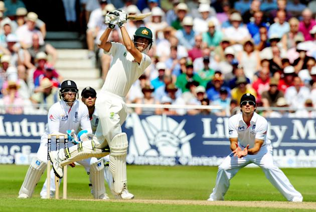Cricket - First Investec Ashes Test - England v Australia - Day Two - Trent Bridge