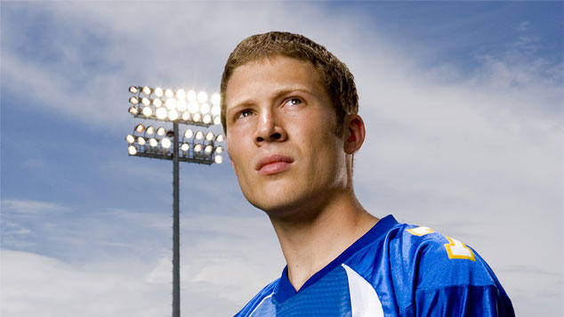 Zach Gilford stars as Matt Saracen in Friday Night Lights on NBC.