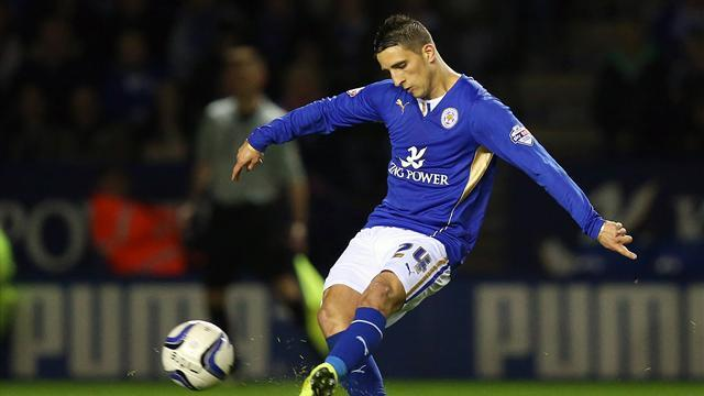 Championship - Leicester on verge of top flight after win over Wednesday