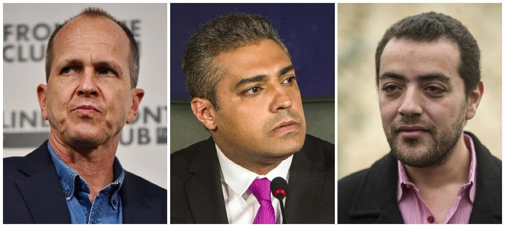 Jazeera journalists receive free speech prize
