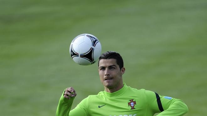 Portugal's Football Team Forward Cristiano Ronaldo Plays AFP/Getty Images