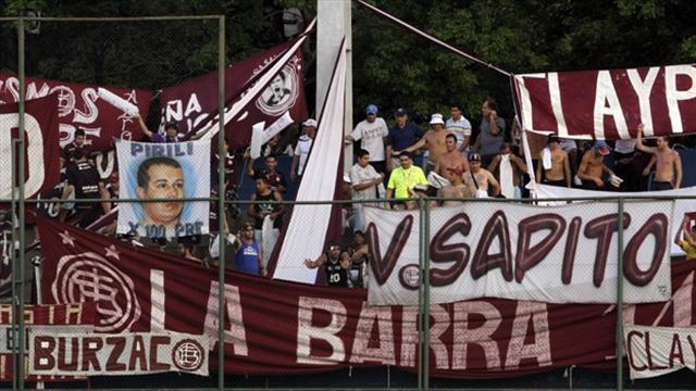South American Football - Lanus beat Arsenal to join tight title-chasing bunch