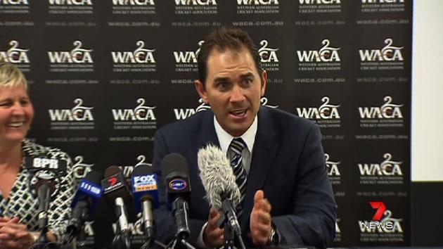 Justin Langer new Warrior's coach