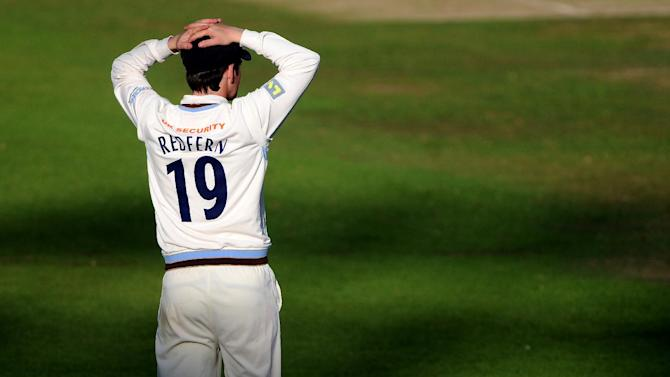 Dan Redfern's half century may not be enough for Derbyshire