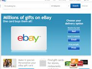 A huge range of new and second-hand goods can be purchased with an eBay e-voucher.
