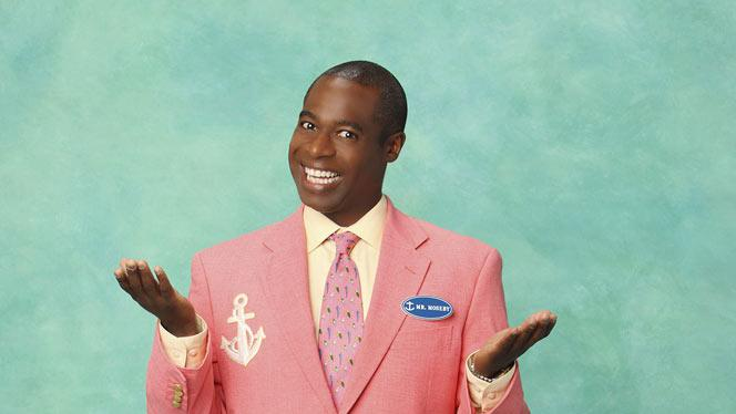 """Phill Lewis stars as Mr. Moseby on """"The Suite Life On Deck."""""""