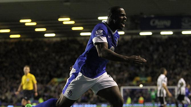 Victor Anichebe is eager to learn from his Everton team-mates