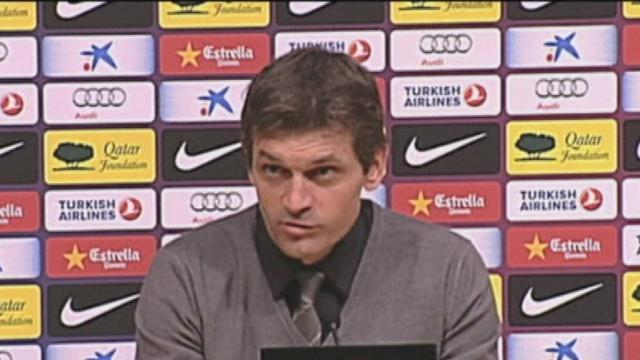 Vilanova delighted to see Pep back
