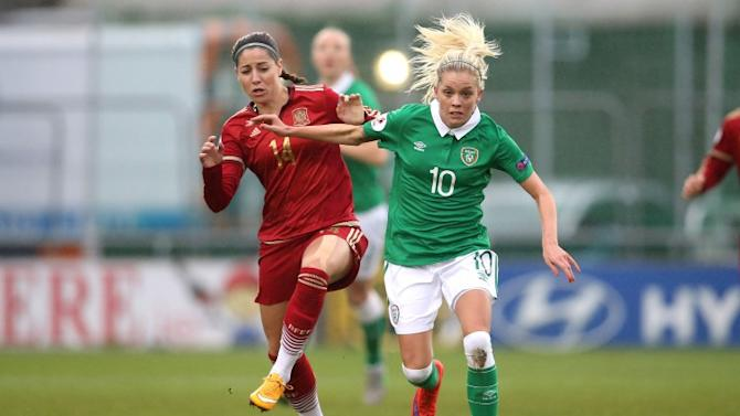 Ireland's hopes of Euro 2017 qualification suffer a setback with home defeat to Spain