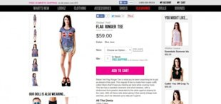 What Nike.com (and Others) Can Teach You About Building Persuasive Product Pages image Rebel Yell Flag Ringer Tee Dolls Kill 1 e1408127146449 600x285