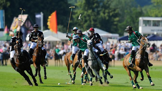 The Veuve Clicquot Gold Cup for the British Open Polo Championship