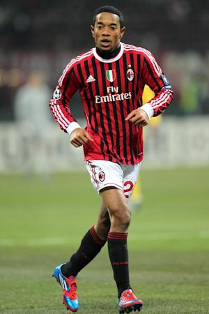 Urby Emanuelson scored an easy tap in for Milan on 67 minutes