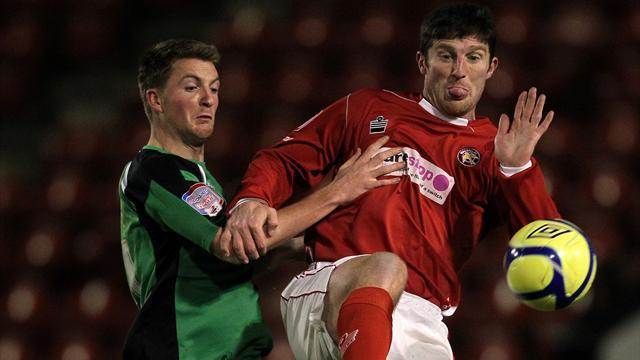 Macken one of six released by Walsall