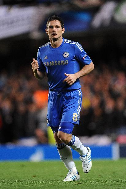 Frank Lampard is set for a scan on his calf injury