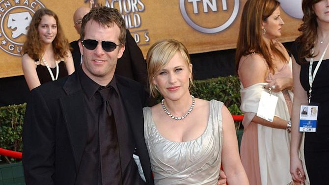 Thomas Jane and Patricia Arquette at the 13th Annual Screen Actors Guild Awards at the Shrine Auditorium in Los Angeles, California on January 28, 2007.