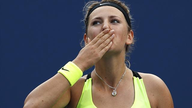 Azarenka storms through in Austria
