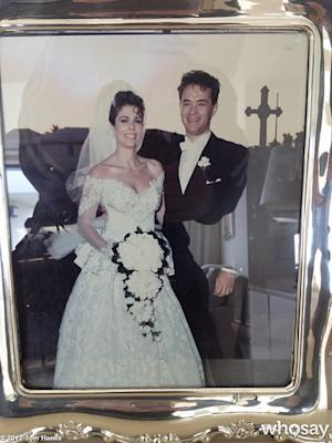 PIC: Aww! See Tom Hanks and Rita Wilson's Sweet Wedding Portrait