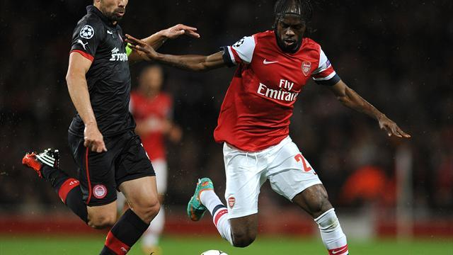 Football - Gunners slump to Olympiacos defeat