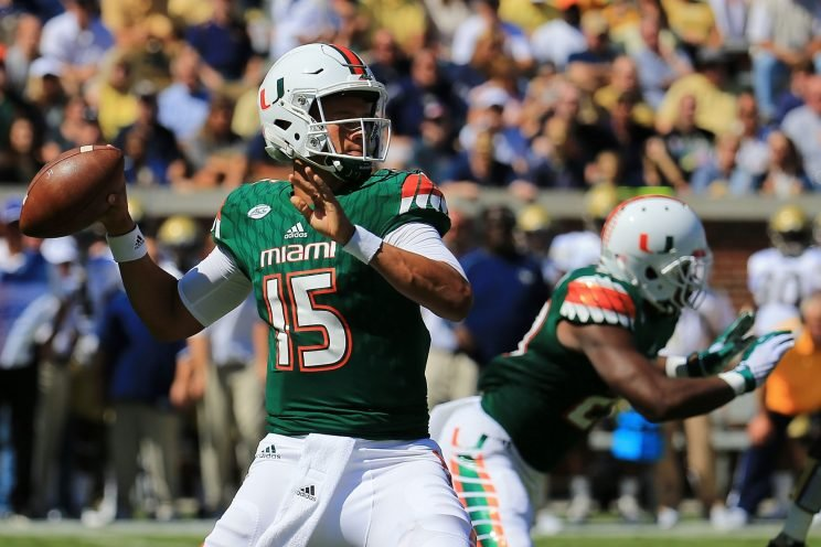 This could Brad Kaaya's last game for Miami as NFL rumors persist.