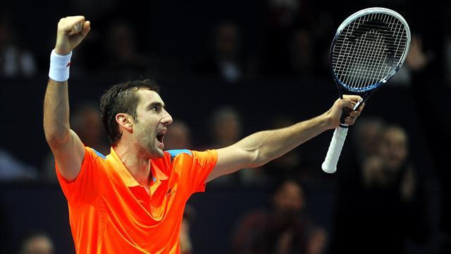 Tennis - Native titles for Cilic and Monfils