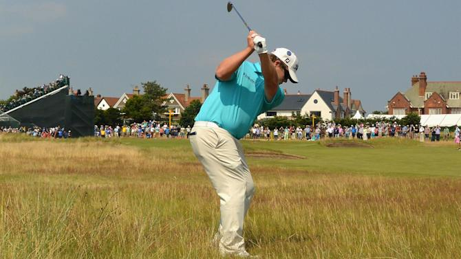 The Open Championship - Coetzee grabs clubhouse lead at Open
