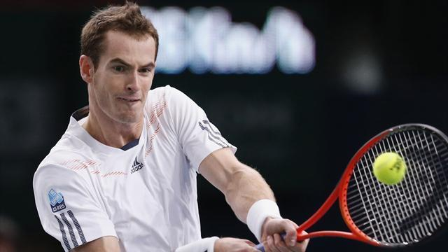ATP World Tour Finals - Murray overcomes Berdych to make winning start