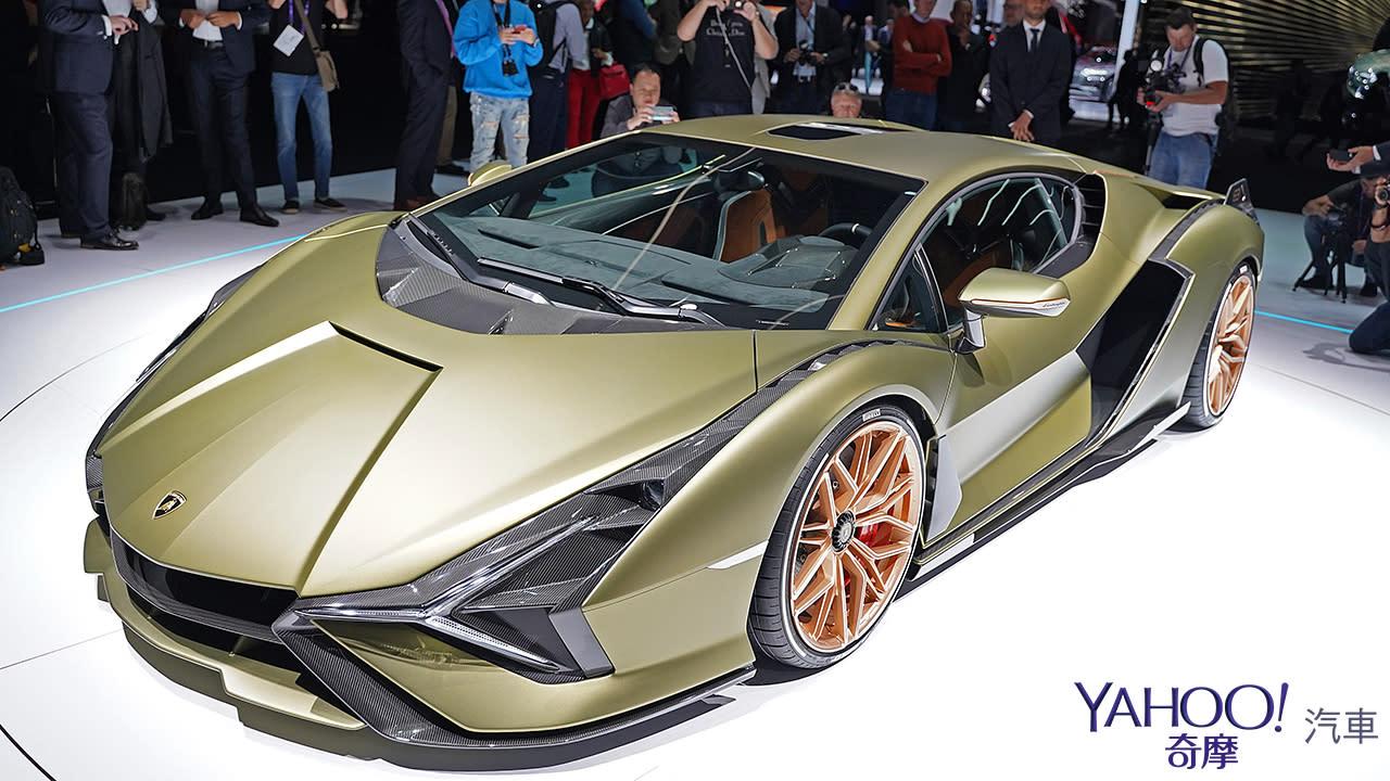 【2019法蘭克福車展】限量63部的終極一閃!Lamborghini Sián榮登油電王者之座