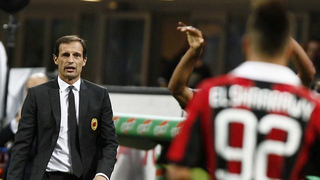 Milan net first home win to ease pressure on Allegri