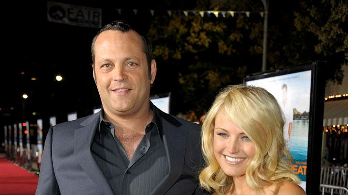 Couples Retreat LA Premiere 2009 Vince Vaughn Malin Akerman
