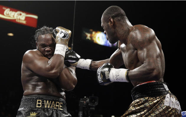 Wilder wins piece of heavyweight title over Stiverne
