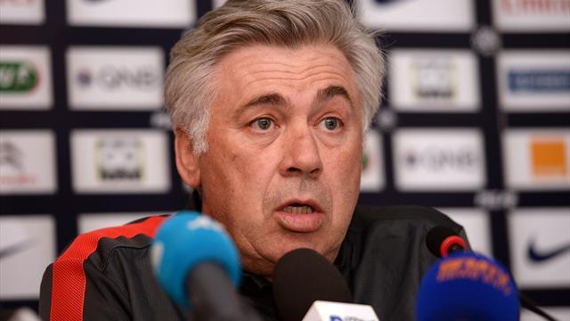 Ligue 1 - Ancelotti confirms desire to leave PSG for Real Madrid