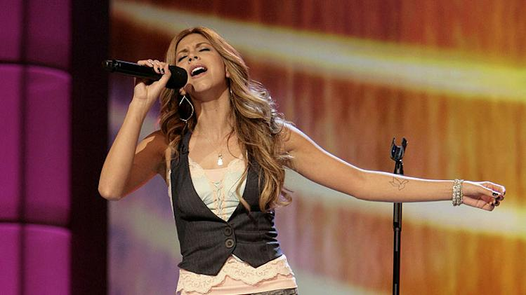 Alaina Alexander performs in front of the judges on 6th season of American Idol.