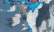 Weather: Snow Causes Road And Rail Delays