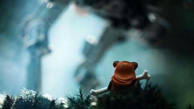 Star Wars toy photographs